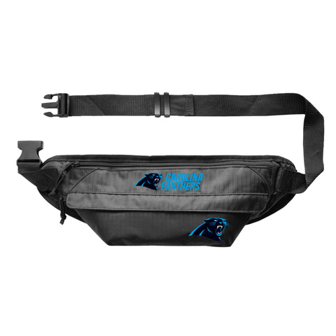 Carolina Panthers Large Fanny Pack