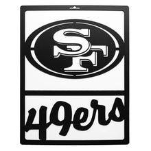 Load image into Gallery viewer, San Francisco 49ers Metal Team Sign