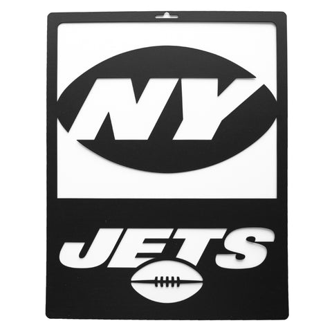 New York Jets Metal Team Sign