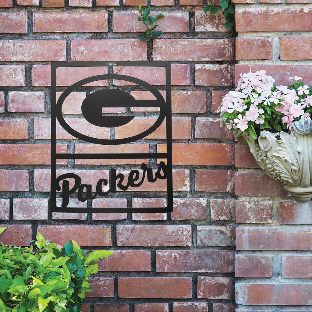 Green Bay Packers Metal Team Sign