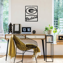 Load image into Gallery viewer, Green Bay Packers Metal Team Sign