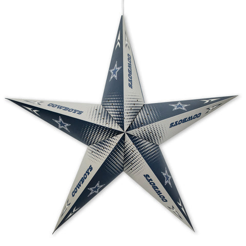 Dallas Cowboys Star Lantern
