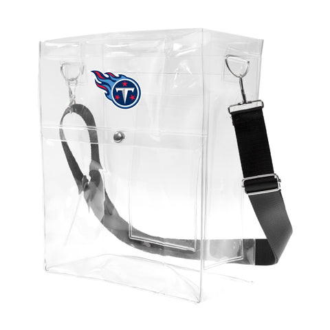 Tennessee Titans Clear Ticket Satchel