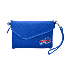 Load image into Gallery viewer, Buffalo Bills Fold Over Crossbody Pebble