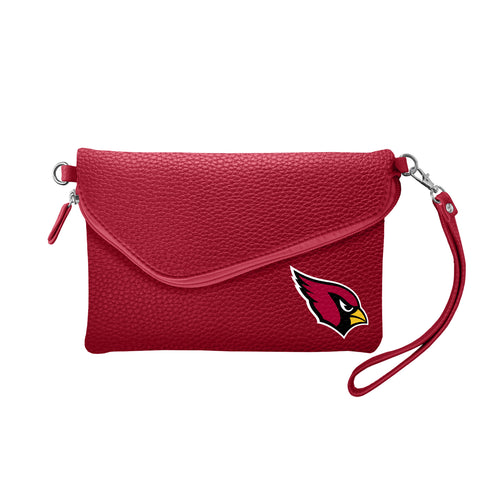Arizona Cardinals Fold Over Crossbody Pebble