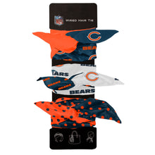 Load image into Gallery viewer, Chicago Bears Wired Hair Tie