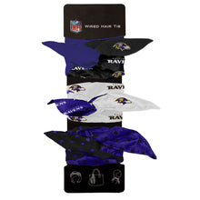 Load image into Gallery viewer, Baltimore Ravens Wired Hair Tie