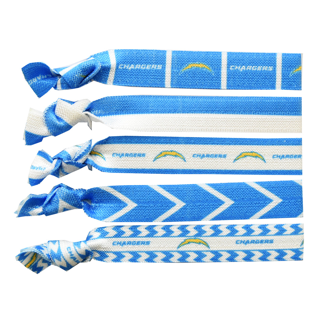 Los Angeles Chargers Knotted Hair Tie