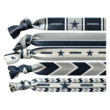 Load image into Gallery viewer, Dallas Cowboys Knotted Hair Tie