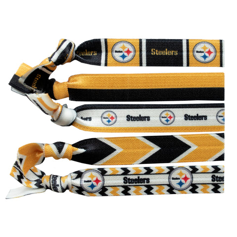 Pittsburgh Steelers Knotted Hair Tie