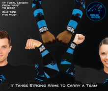 Load image into Gallery viewer, Carolina Panthers Strong Arm