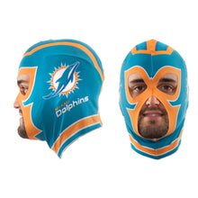 Load image into Gallery viewer, Miami Dolphins Fan Mask