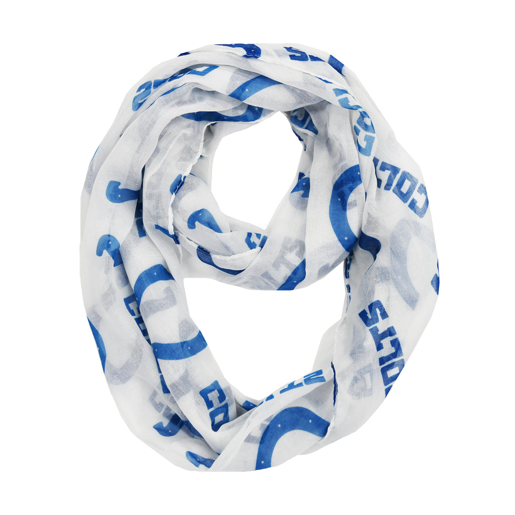 Indianapolis Colts Sheer Infinity Scarf Alternate