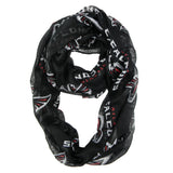 Atlanta Falcons Sheer Infinity Scarf Alternate