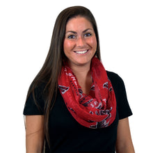 Load image into Gallery viewer, Atlanta Falcons Sheer Infinity Scarf