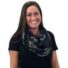 Load image into Gallery viewer, Jacksonville Jaguars Sheer Infinity Scarf