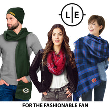 Load image into Gallery viewer, Green Bay Packers Sheer Infinity Scarf Alternate
