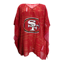 Load image into Gallery viewer, San Francisco 49ers Caftan Trace