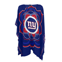 Load image into Gallery viewer, New York Giants Caftan Flower