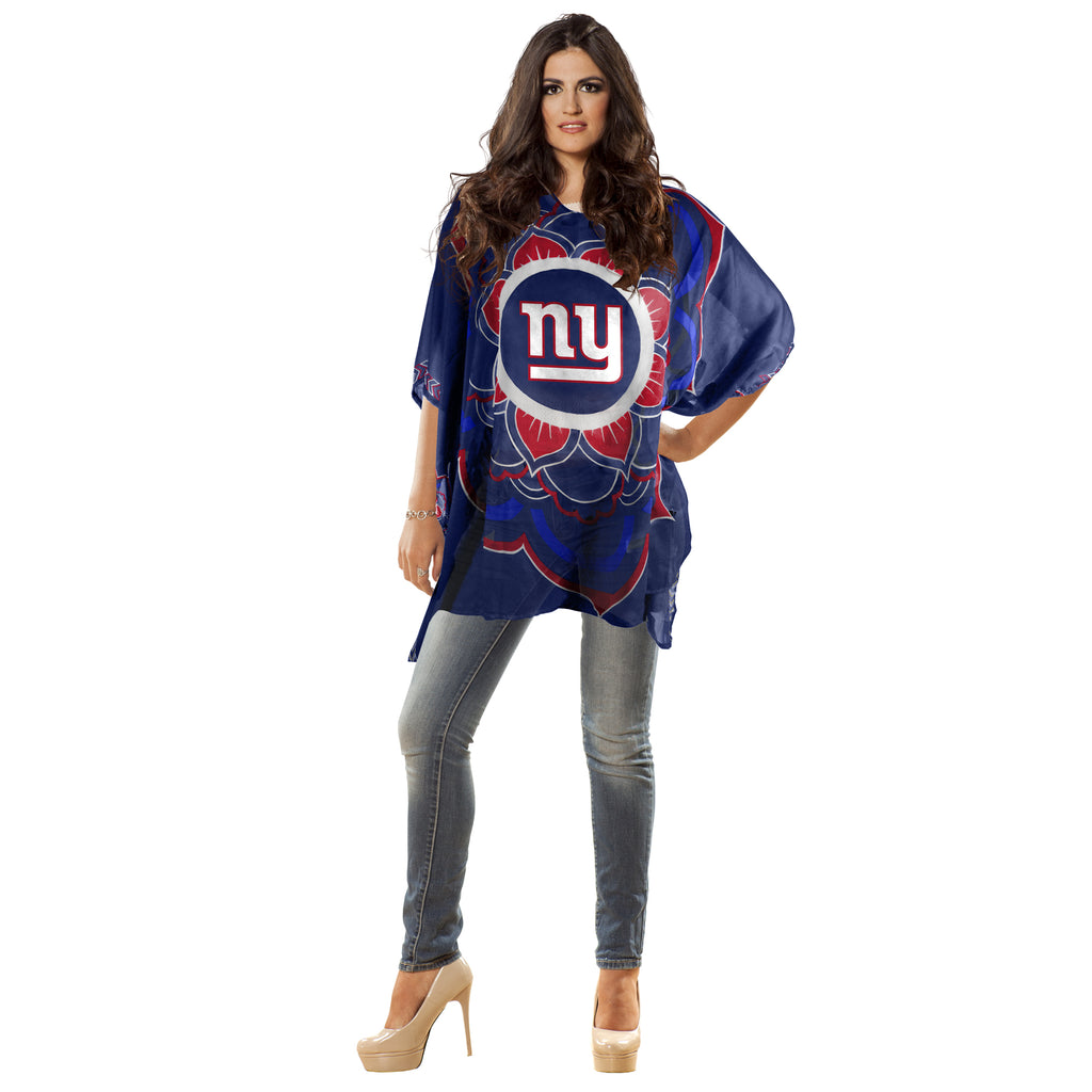 New York Giants Caftan Flower