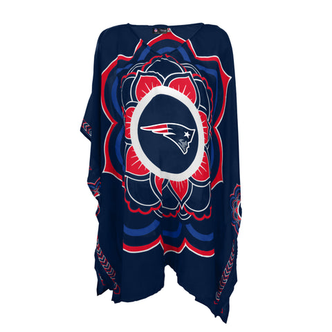 New England Patriots Caftan Flower