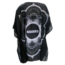 Load image into Gallery viewer, Oakland Raiders Caftan Flower