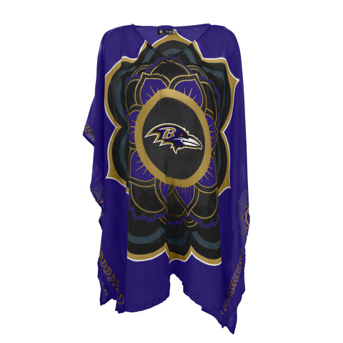 Baltimore Ravens Caftan Flower