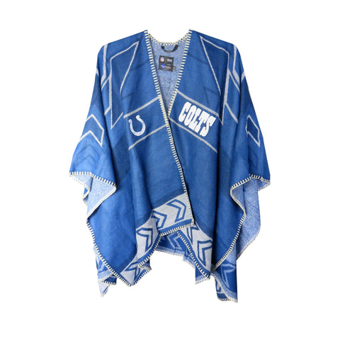 Indianapolis Colts Whipstitch Poncho