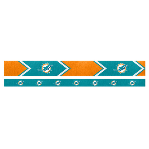Miami Dolphins Headband Set