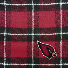 Load image into Gallery viewer, Arizona Cardinals Plaid Blanket Scarf