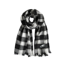 Load image into Gallery viewer, Philadelphia Eagles Plaid Blanket Scarf