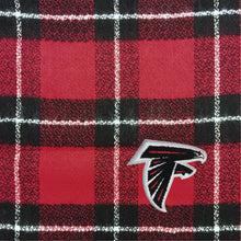 Load image into Gallery viewer, Atlanta Falcons Plaid Blanket Scarf