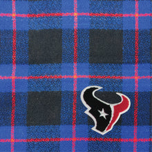 Load image into Gallery viewer, Houston Texans Plaid Blanket Scarf
