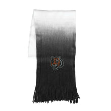 Load image into Gallery viewer, Cincinnati Bengals Dip Dye Scarf
