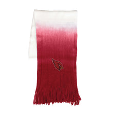 Load image into Gallery viewer, Arizona Cardinals Dip Dye Scarf