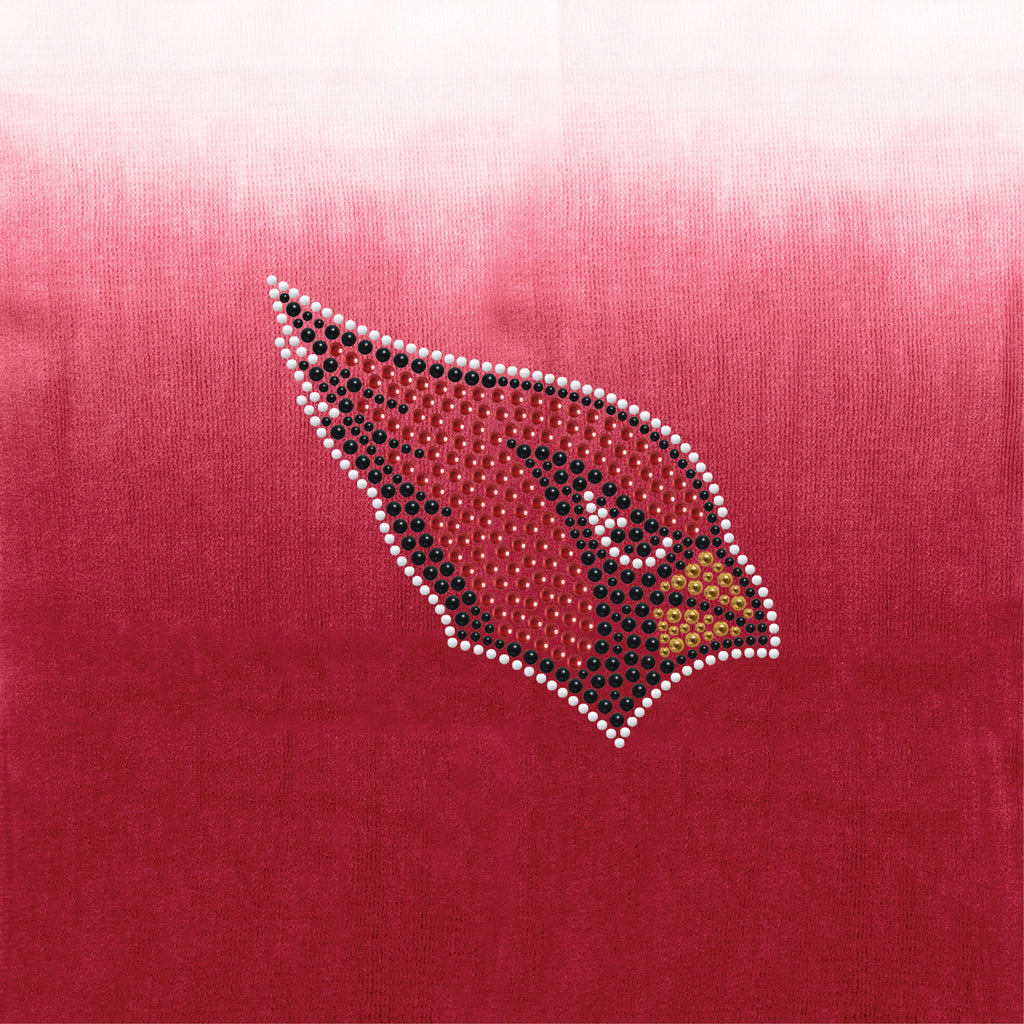 Arizona Cardinals Dip Dye Scarf