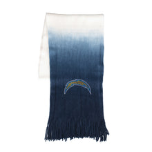 Load image into Gallery viewer, Los Angeles Chargers Dip Dye Scarf