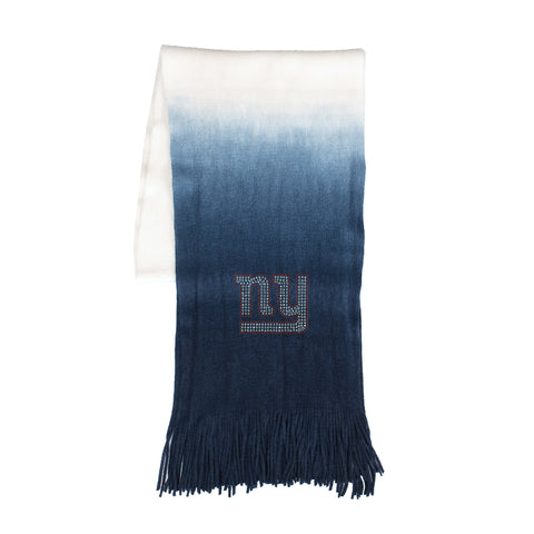 New York Giants Dip Dye Scarf