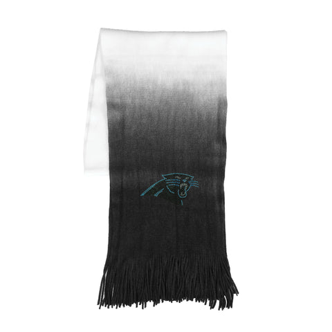 Carolina Panthers Dip Dye Scarf