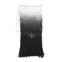 Load image into Gallery viewer, New Orleans Saints Dip Dye Scarf