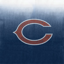Load image into Gallery viewer, Chicago Bears Dip Dye Poncho