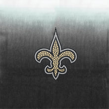 Load image into Gallery viewer, New Orleans Saints Dip Dye Poncho