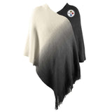 Pittsburgh Steelers Dip Dye Poncho