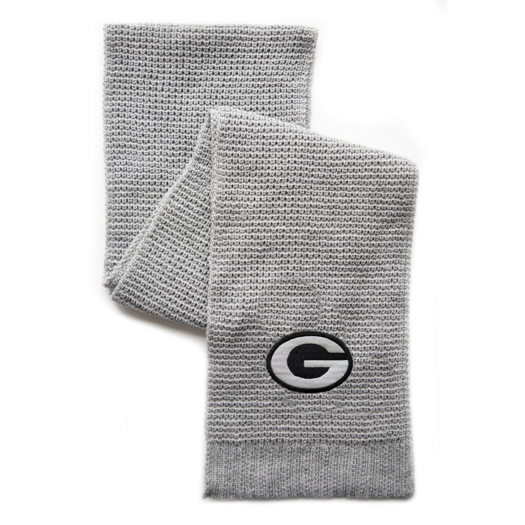Green Bay Packers Waffle Scarf