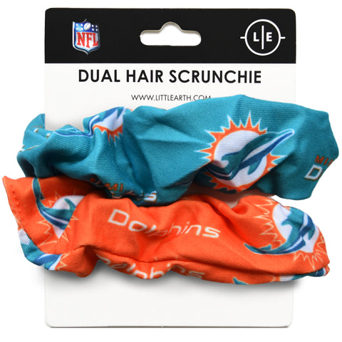 Miami Dolphins Dual Hair Twist