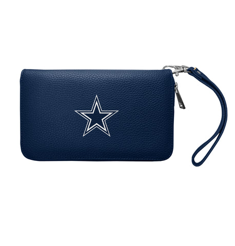 Dallas Cowboys Zip Organizer Wallet Pebble