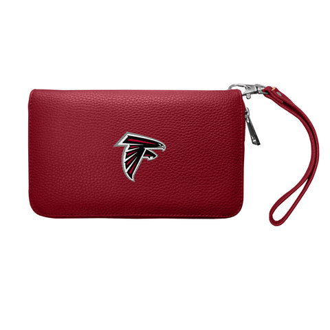 Atlanta Falcons Zip Organizer Wallet Pebble