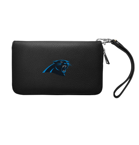 Carolina Panthers Zip Organizer Wallet Pebble