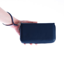 Load image into Gallery viewer, Seattle Seahawks Zip Organizer Wallet Pebble