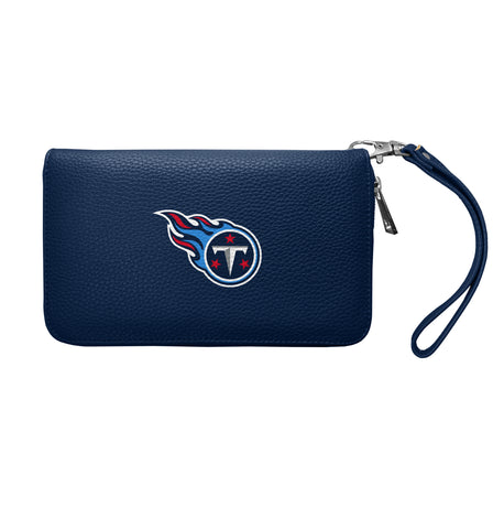 Tennessee Titans Zip Organizer Wallet Pebble
